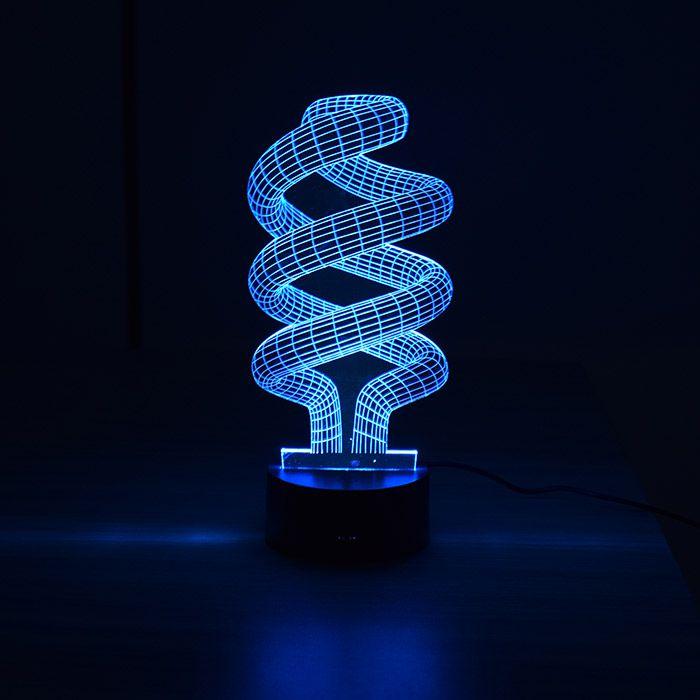 Luminária 3D - Espiral