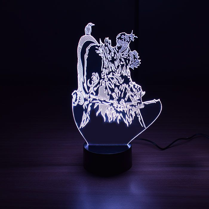 Luminária de Led - Fiddlestick League Of Legends