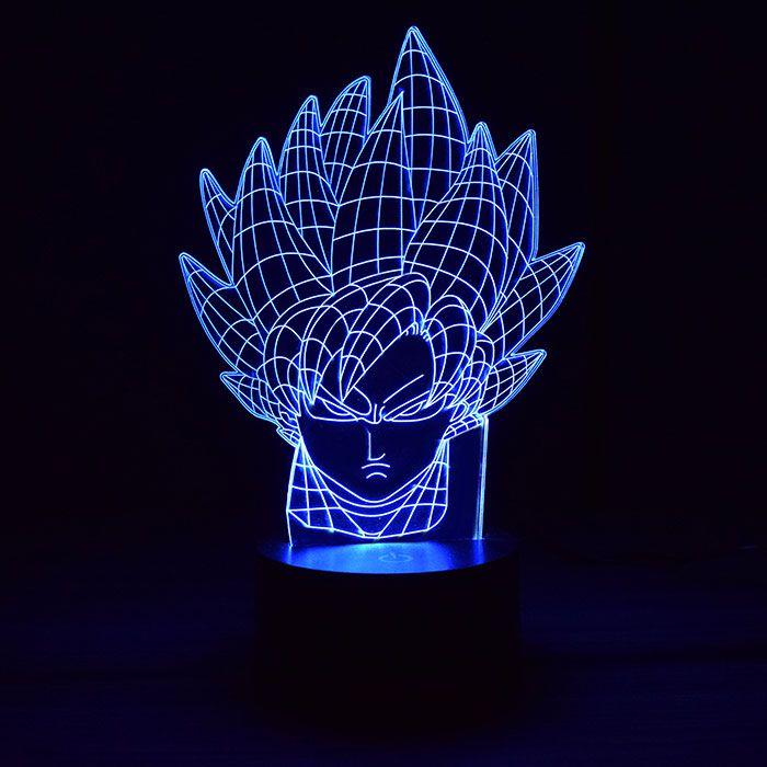 Luminária de Led - Goku