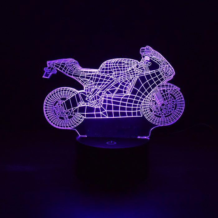 Luminária de Led - Moto Esportiva Hornet