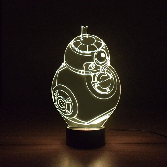 Luminária de Led - Robo Sphero BB-8 Star Wars