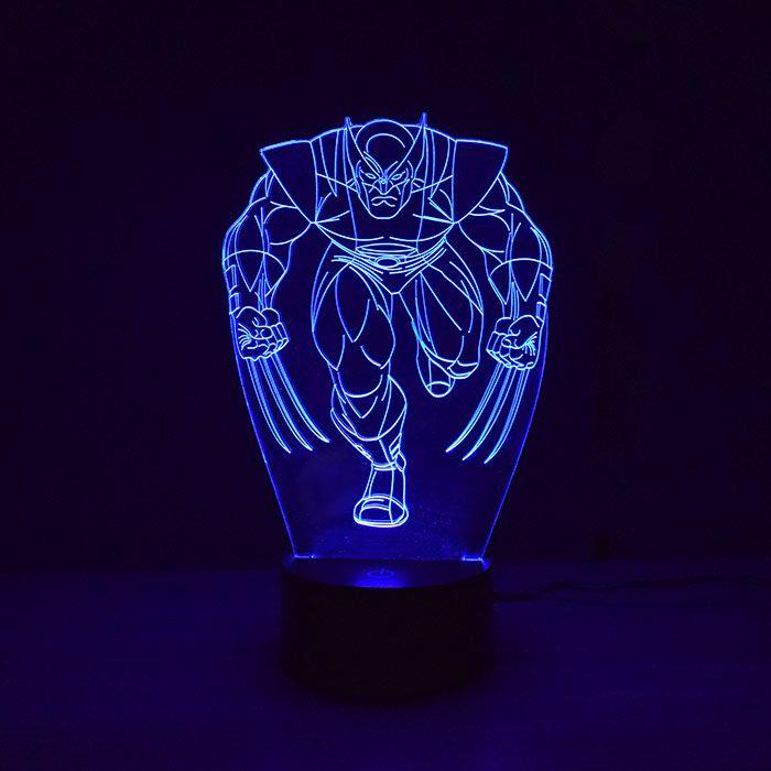 Luminária 3D - Wolverine