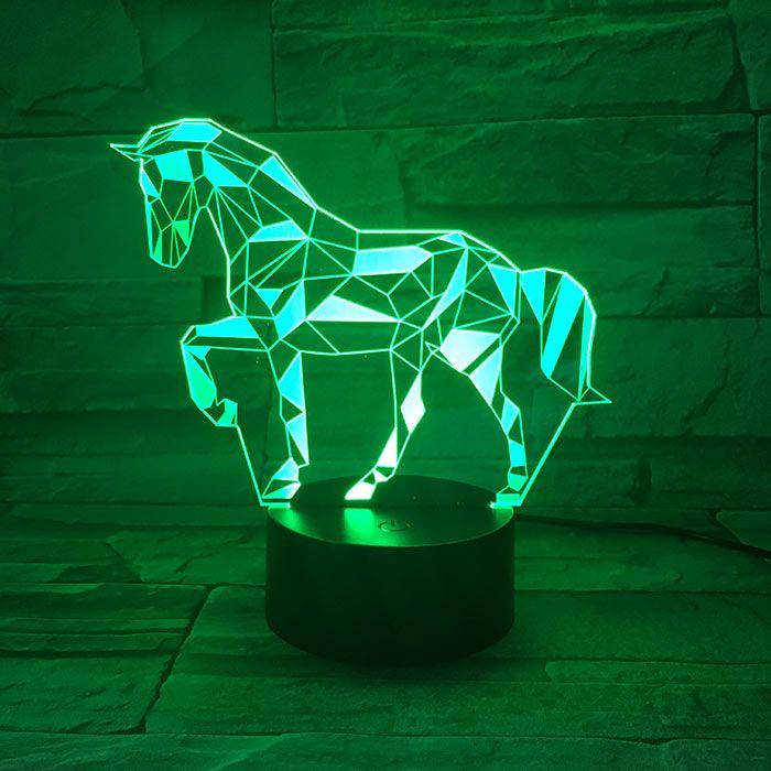 Luminária 3D - Cavalo