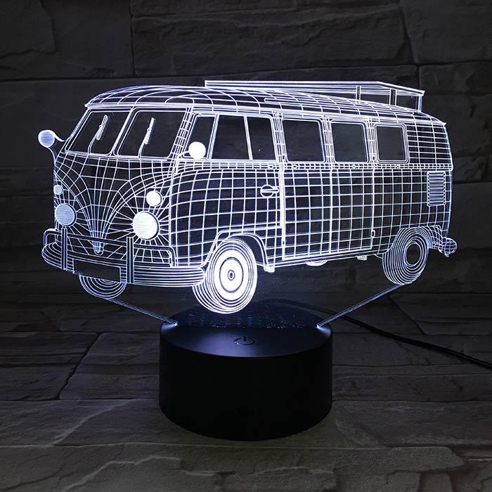 Luminária 3D - Kombi