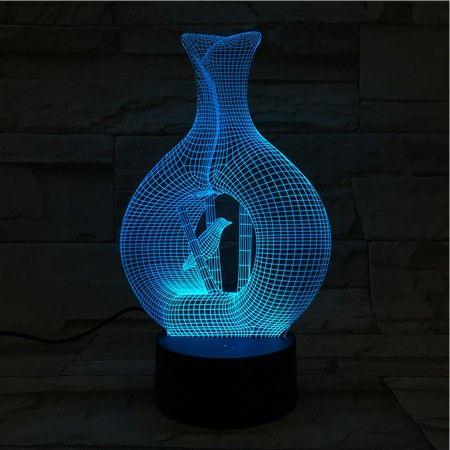 Luminária 3D - Ninho de Pássaro
