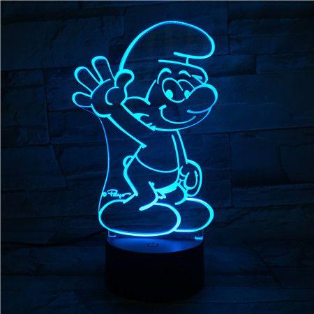 Luminária de Led - Smurf