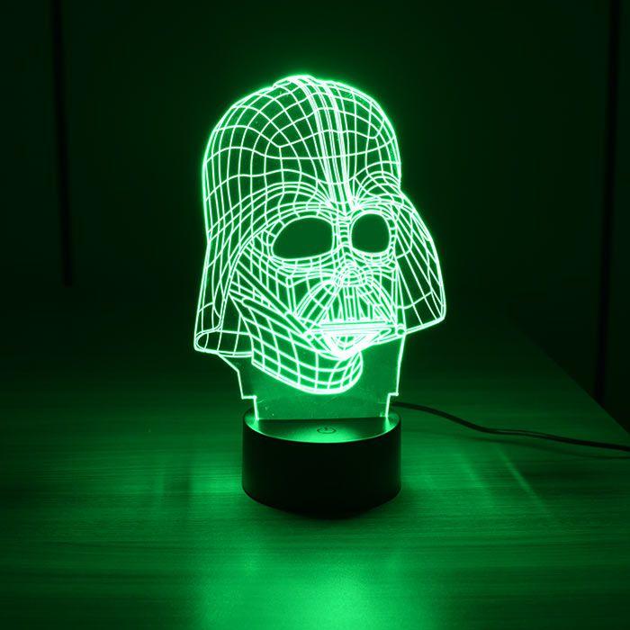 Luminária 3D - Darth Vader