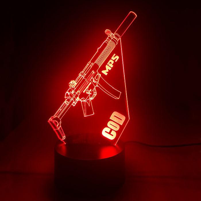Luminária MP5 - Call of Duty