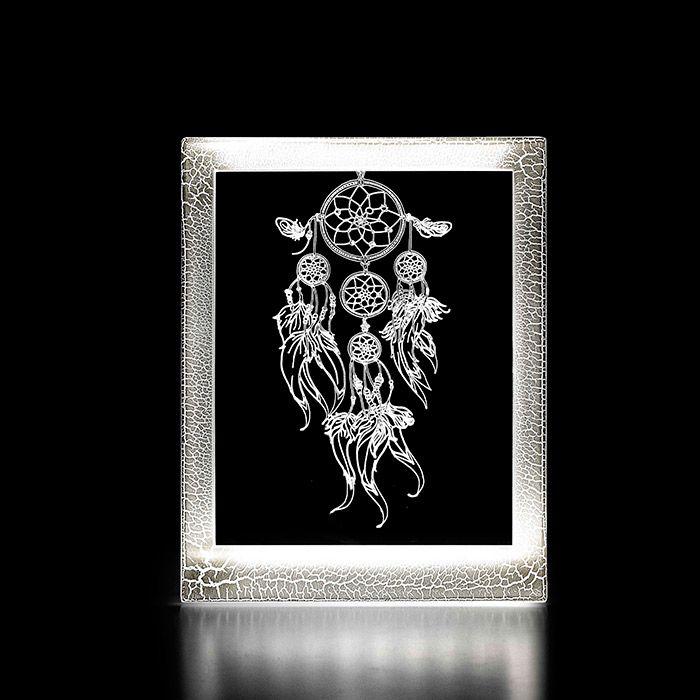 Moldura Decorativa Led - Filtro dos Sonhos