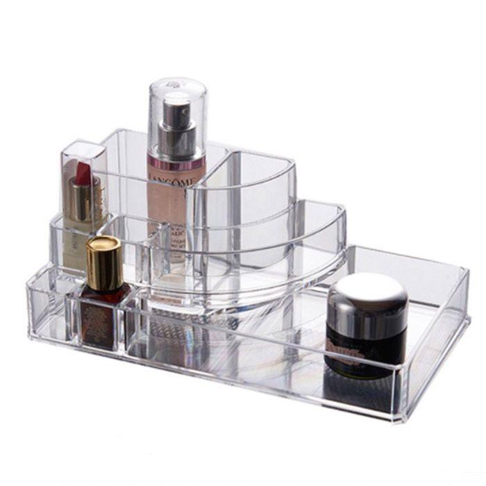 Organizador / Porta Maquiagem 3 Gavetas com Bandeja