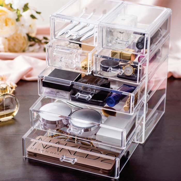 Organizador / Porta Maquiagem 7 gavetas