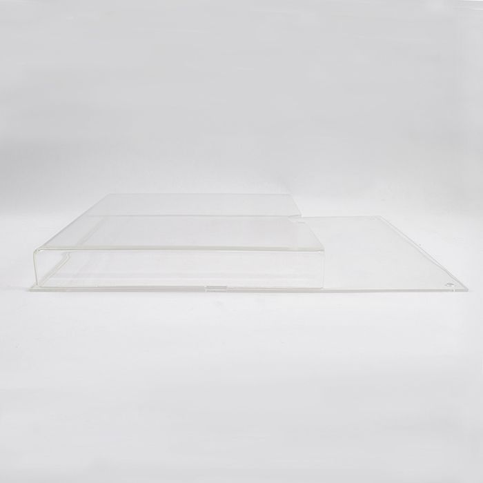 Porta Folheto em Acrílico para Parede - Bolsa  A6 (15x10cm) Kit 10, 20, 50 e 100 Peças