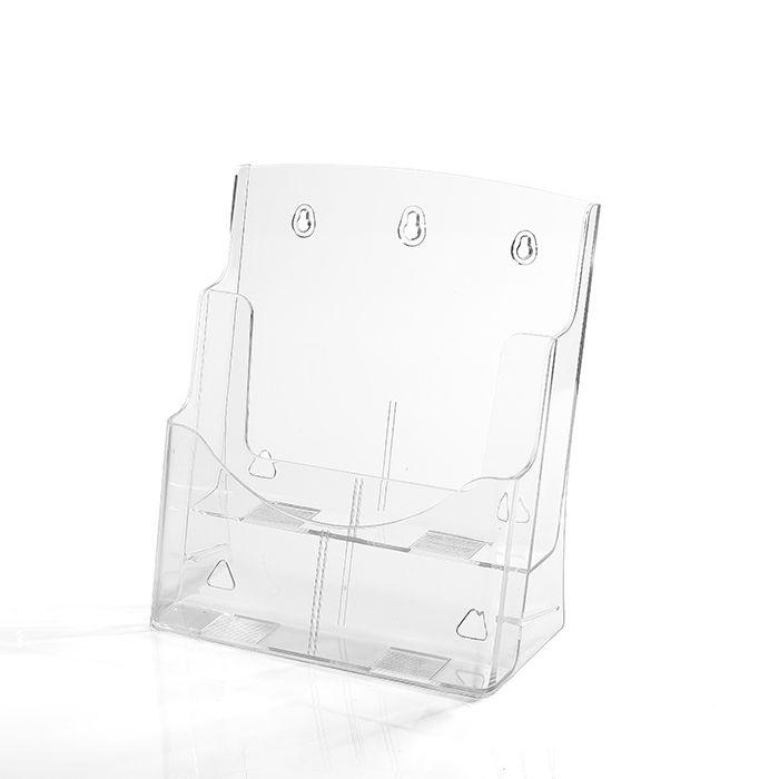 Porta Folheto Duplo A4 (30x21cm) - Kit 10 e 25 peças