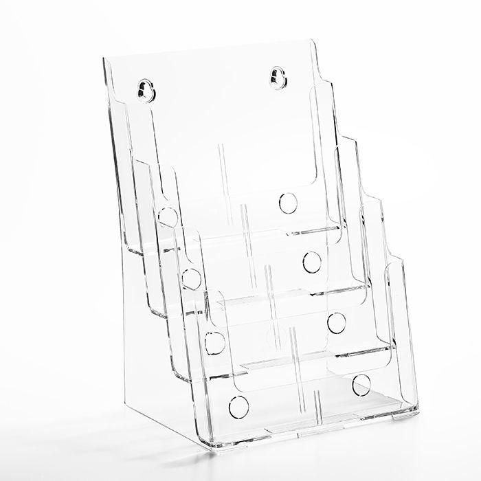 Porta Folheto Quádruplo A4 (30x21cm)