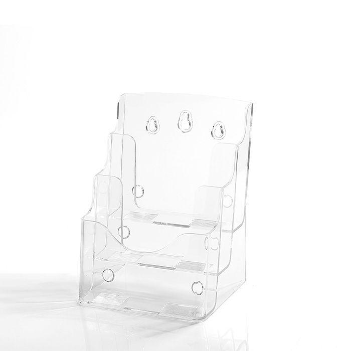 Porta Folheto Triplo A5 (21x15cm) - Kit 10 e 25 peças