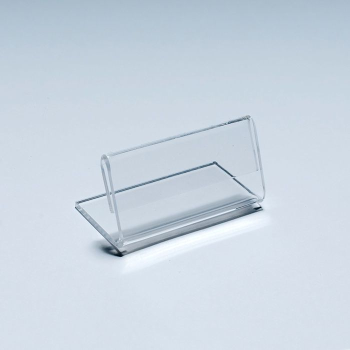 Porta Preço de Acrílico 4,5x10cm Kits de 5, 10, 20, 50 e 100 peças