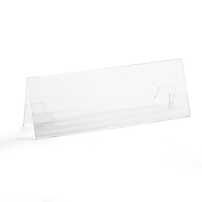 Prisma de Mesa 10,5x29,7cm - Kit 10, 25, 50 e 100 Peças