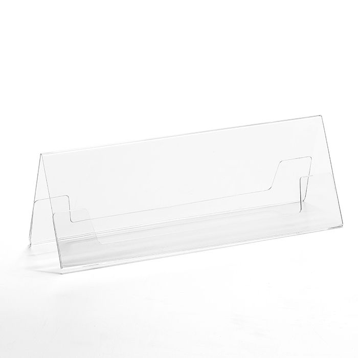 Prisma de Mesa 7,5x21cm - Kit 10, 25, 50 e 100 Peças