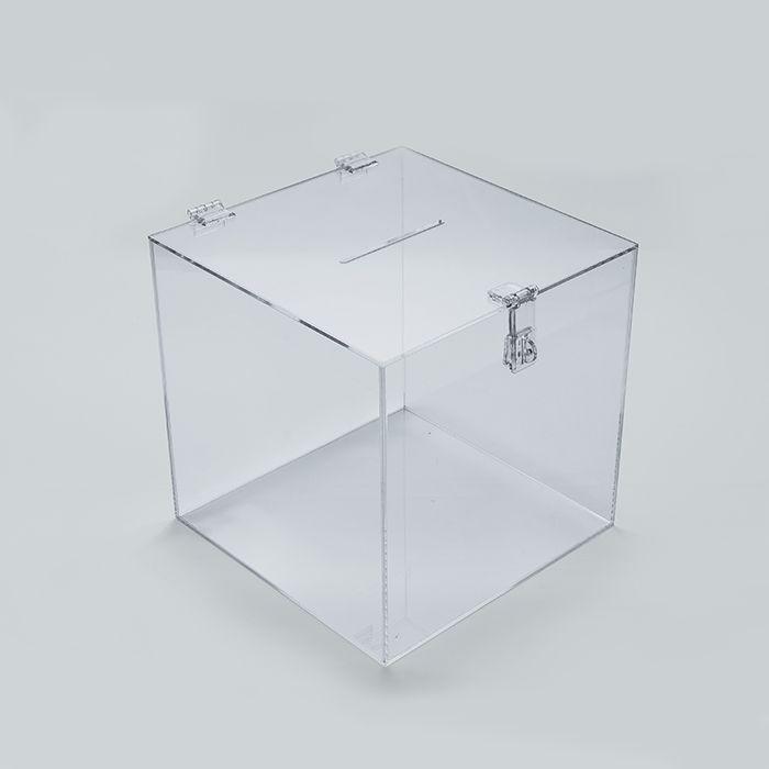 Urna em Acrílico Cristal 30x30cm