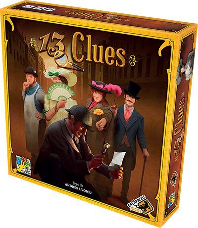 13 Clues Jogo de Tabuleiro Galapagos 13C001  - Place Games