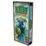 7 Wonders Duel Panteão Expansão de Jogo de Tabuleiro Galapagos 7WO012