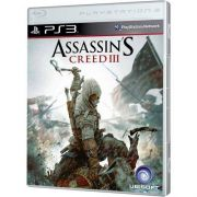 Assassin's Creed III Playstation 3 Original Lacrado