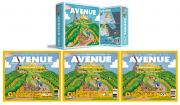 Avenue + Blocos de Mapas A, B e C PaperGames J016