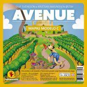 Avenue Expansão de jogo Bloco de Mapas Modelo C PaperGames A007
