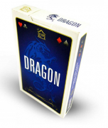 Baralho envernizado Azul 54 Cartas Dragon CBDAZ54