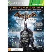 Batman Arkham Asylum GOTY Platinum Hits Xbox360 Original Usado