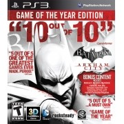 Batman Arkham City GOTY Playstation 3 Original Usado