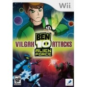 Ben 10 - Vilgax Attacks Alien Force Wii Usado Original
