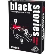 Black Stories Crimes Reais  Jogo de Cartas Galapagos BLK101