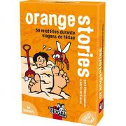 Black Stories Junior Orange Stories  Jogo de Cartas Galapagos BLK203