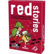 Black Stories Junior Red Stories  Jogo de Cartas Galapagos BLK204