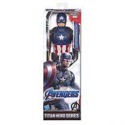 Boneco Marvel Avengers Capitão America Titan Hero Power FX E3919