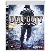 Call of Duty World at War Playstation 3 Original Novo