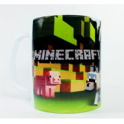 Caneca Polímero Minecraft Abstrata