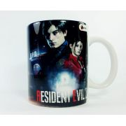 Caneca Porcelana Resident Evil 2 Abstrata
