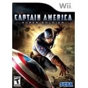 Captain America Wii Usado Original
