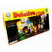Clue Detetive The Simpsons Jogo de Tabuleiro Estrela Hasbro