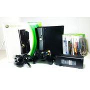 Console Xbox 360 Slim 250GB + 10 jogos Original 110V Usados