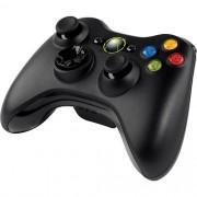 Controle XBOX 360 sem fio Preto + Kit Play and Charge Usado