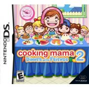 Cooking Mama 2 Dinner With Friends Nintendo DS Original Lacrado