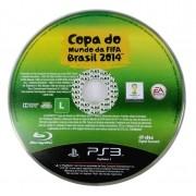 Copa do Mundo da Fifa Brasil 2014 só a mídia Playstation 3 Original Usado