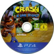 Crash Bandicoot N'Sane Trilogy PS4 Só A Midia Usado