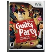 Disney - Guilty Party Wii Usado Original