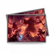 Dungeons & Dragons 50 Shields Poker Size Fire Giant Acessório RPG Galápagos DND616