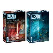 Exit Morte no Expresso Oriente + Tesouro Afundado Jogo de Cartas Devir BGEXIT7E8PT