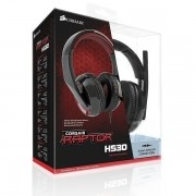 Fone Headset Corsair Raptor HS40 XBOX ONE/PS4 Preto original usado